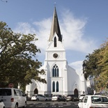 Things to do in Stellenbosch - view historic buildings: Moederkerk in Church Street