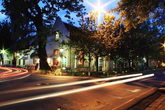 Historic Stellenbosch Architecture 107 Dorpstraat Hotel