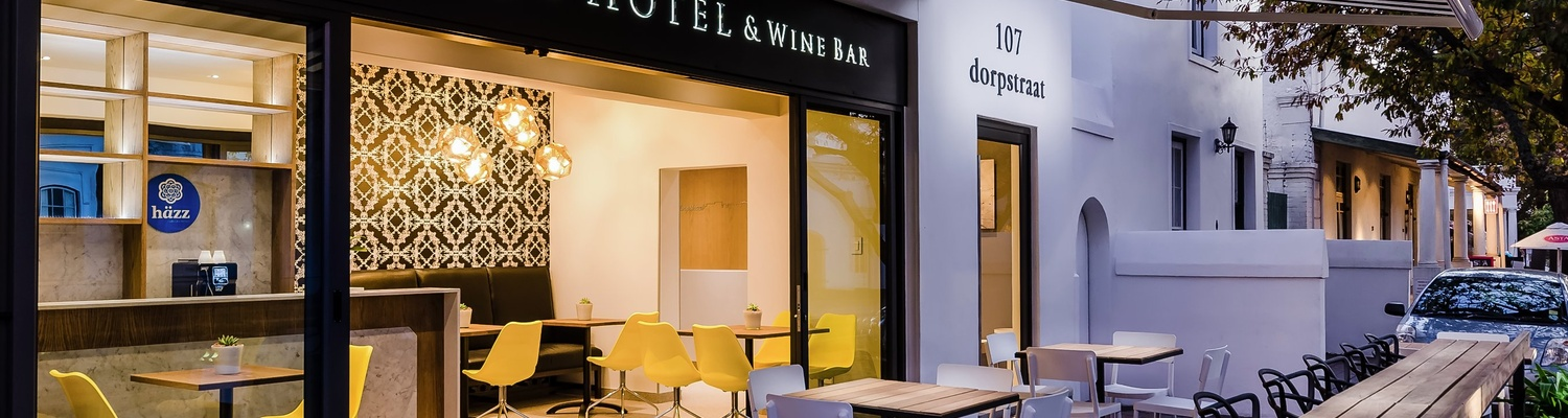 stellenbosch boutique hotel accommodation and wine bar