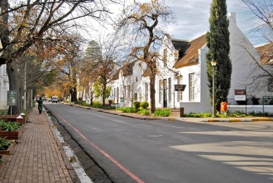 Things to do in Stellenbosch - visit historic buildings via a walking tour