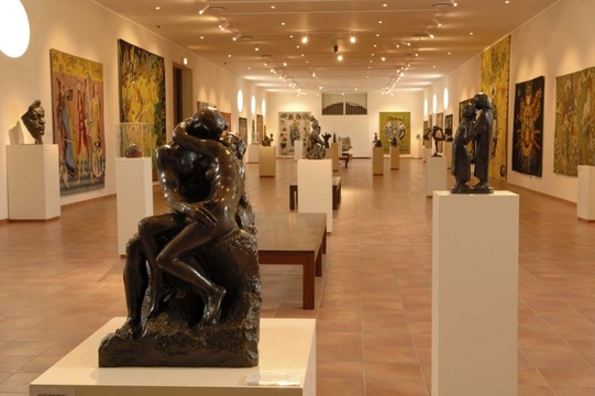 Things to do in Stellenbosch - art galleries: Rupert Museum