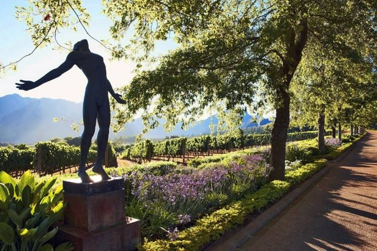 Things to do in Stellenbosch - wine tours with art on display: Delaire Graff